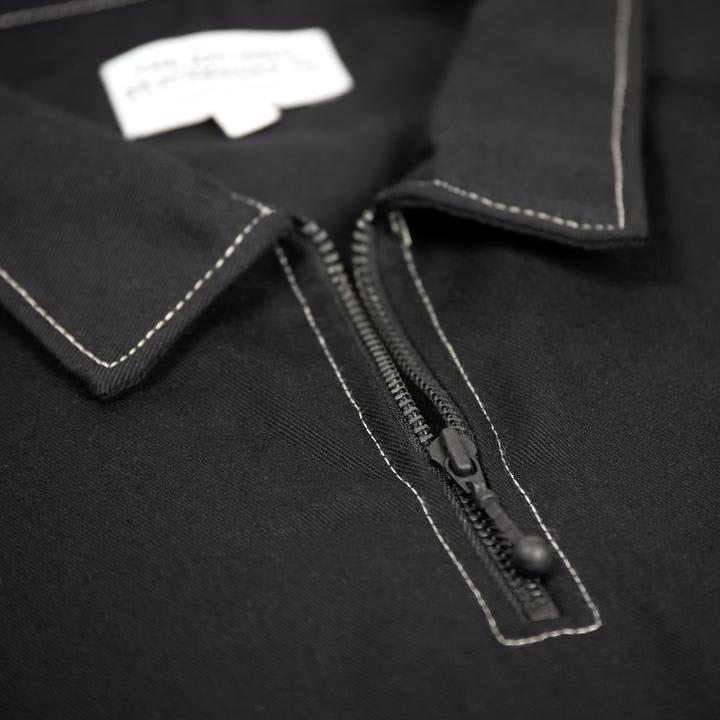 The National Skateboard Co. Quarter Zip Shirt - Black (Collection 2) | Shirt by The National Skateboard Co. 2