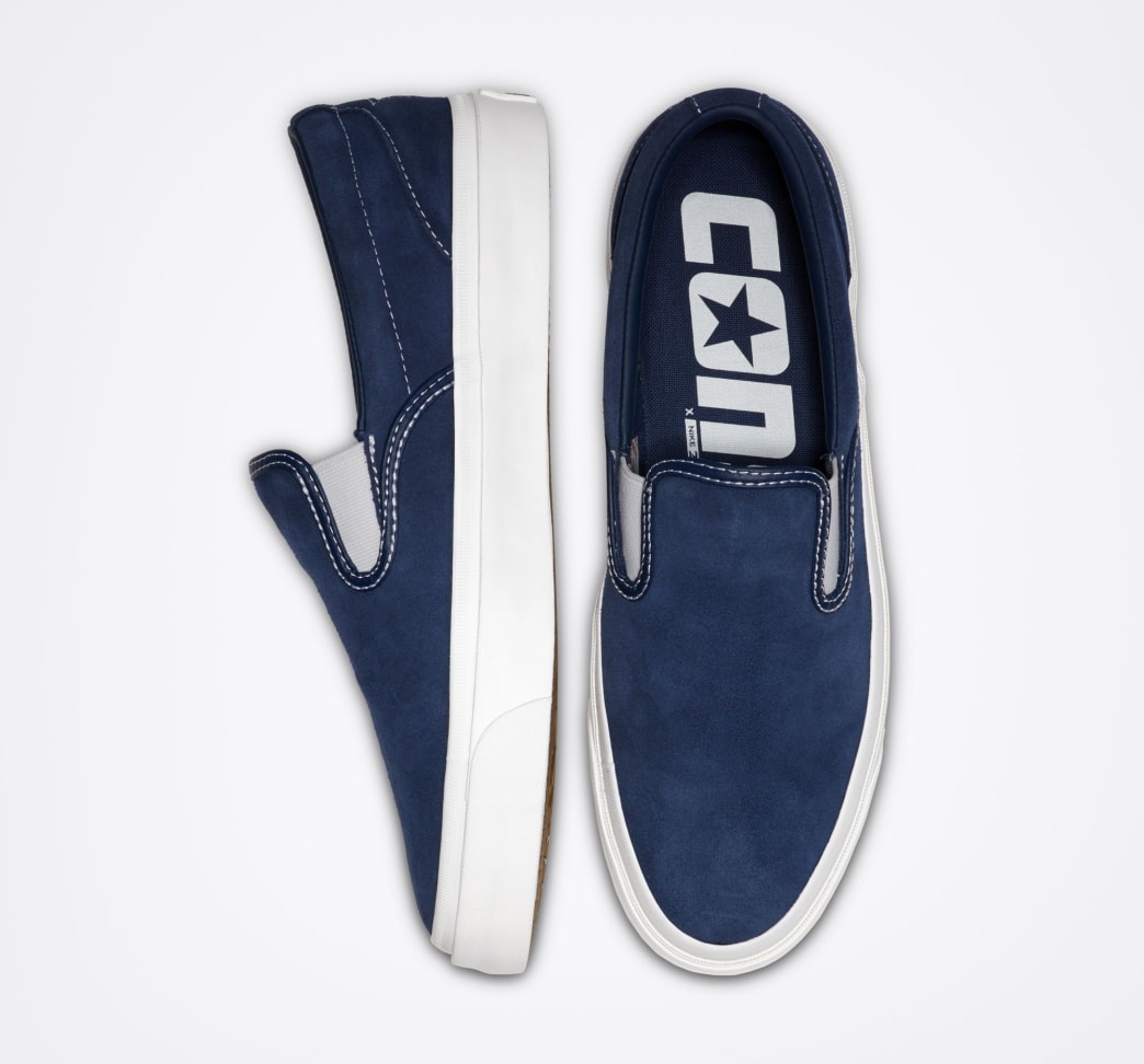 Converse Cons One Star CC Pro Slip - Navy/White/White | Shoes by Converse Cons 3