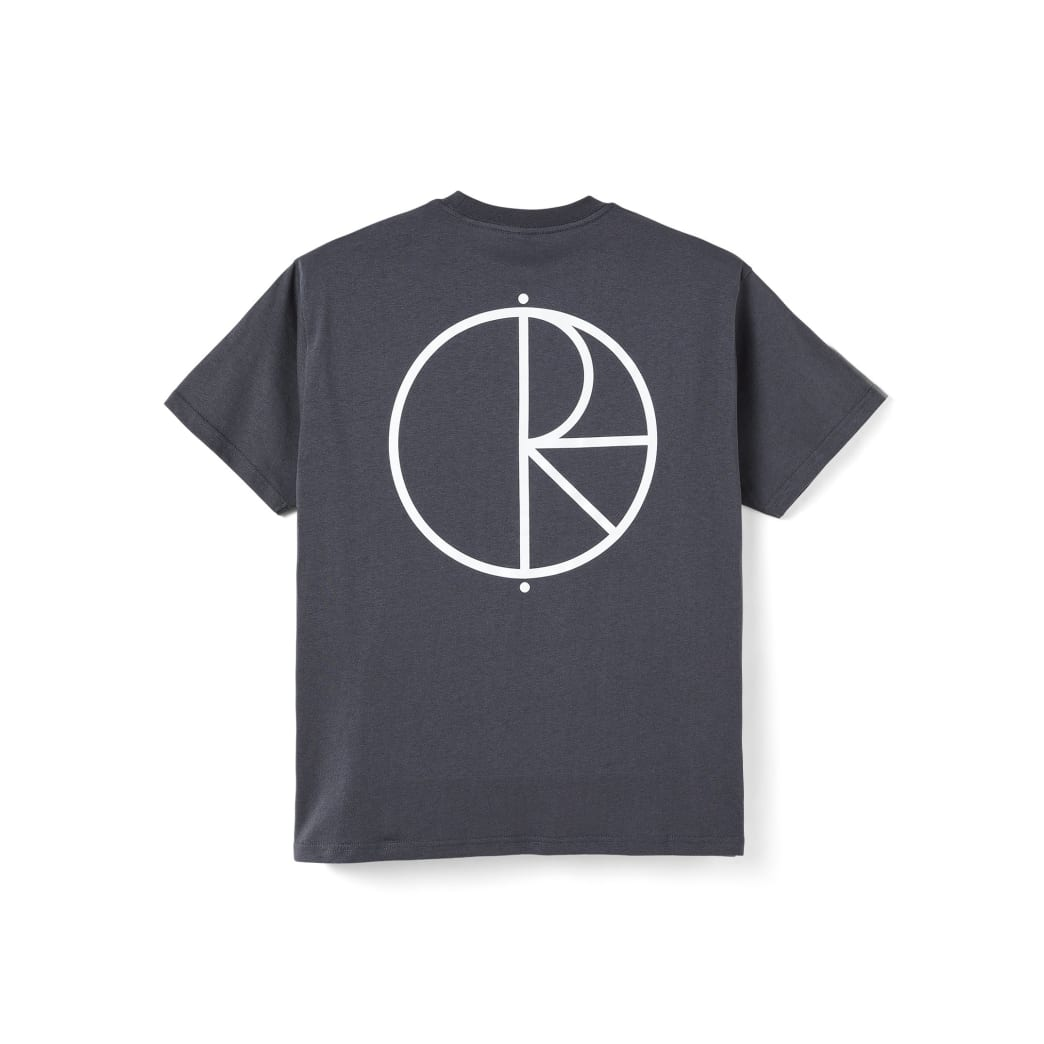 Polar Skate Co Stroke Logo T-Shirt - Graphite | T-Shirt by Polar Skate Co 1
