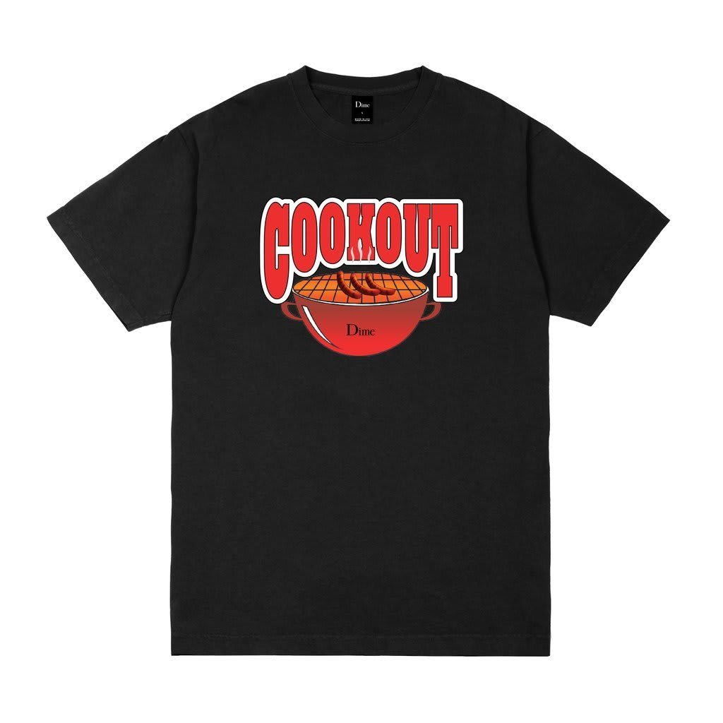 Dime Cookout T-Shirt Black | T-Shirt by Dime MTL 1
