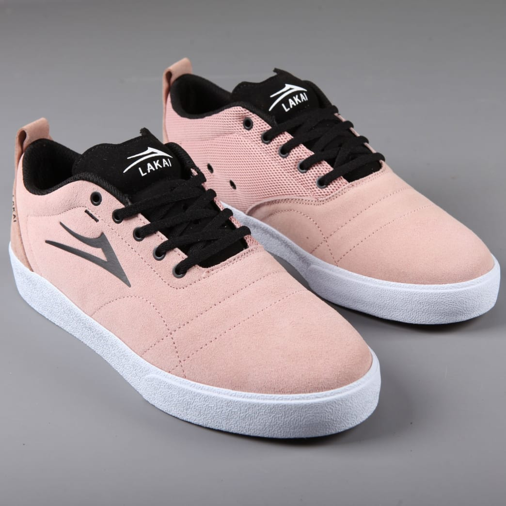 Lakai 'Bristol' Skate Shoes (Rose Suede) | Shoes by Lakai 1