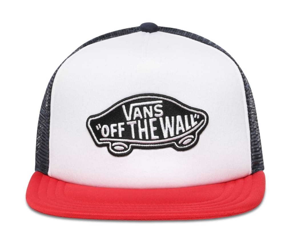 Vans Classic Patch Trucker - Racing Red-White | Trucker Cap by Vans 2