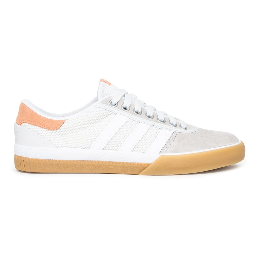 Adidas Lucas Premiere Shoes - Crystal White/Sun Glow/Gum | Shoes by adidas Skateboarding 2