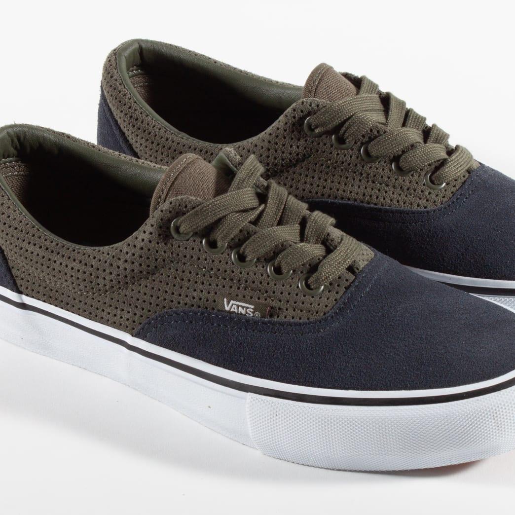 Vans Era Pro Skate Shoes - Perf / Grape Leaf / Ebony   Shoes by Vans 4