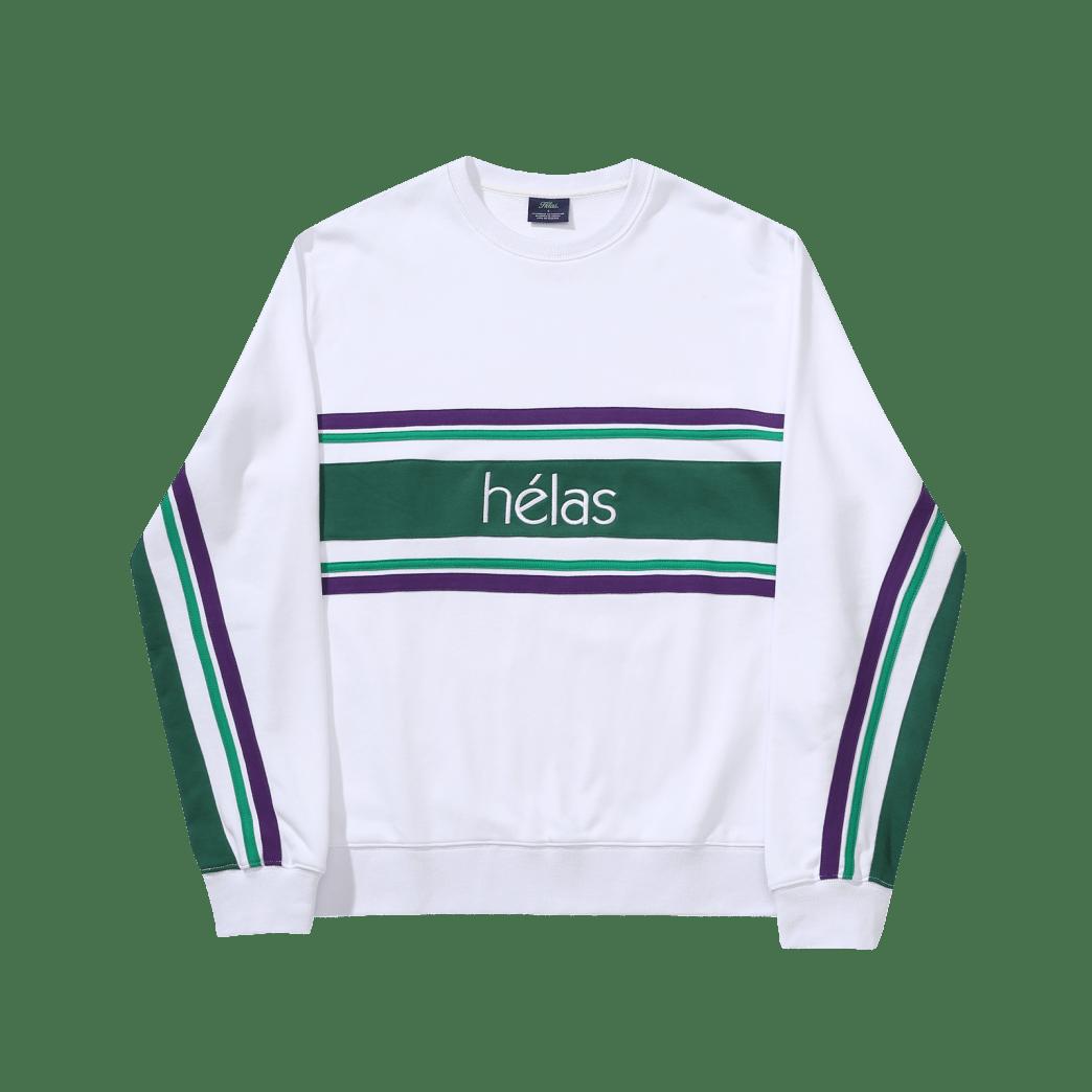 Helas Campione Crewneck- (White) | Sweatshirt by Hélas 1