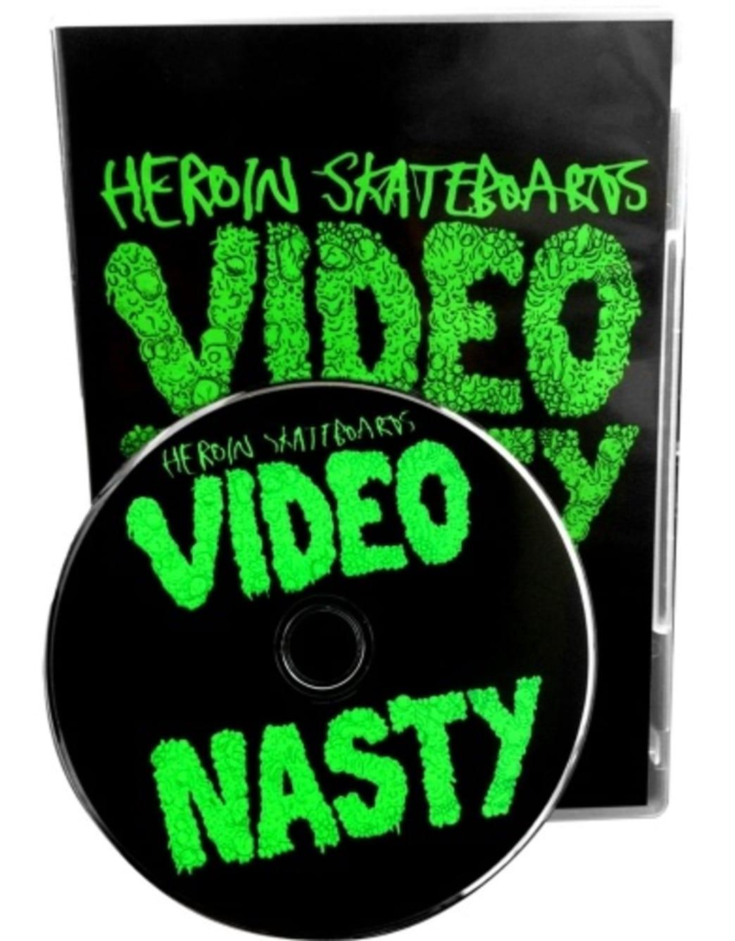 Heroin Video Nasty DVD   DVD by Heroin Skateboards 1