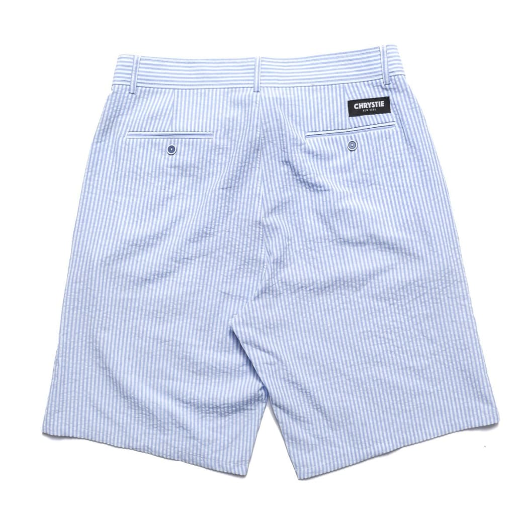 Chrystie NYC Stripe Shorts - Blue | Shorts by Chrystie NYC 2