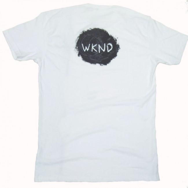 WKND Sketch Ball T-shirt - White   T-Shirt by WKND 1