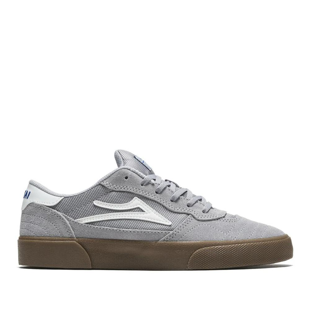 Lakai Cambridge Suede Skate Shoes - Light Grey / Gum | Shoes by Lakai 1