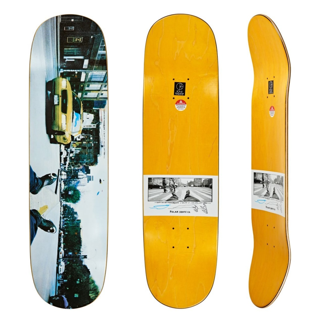"Polar Skate Co Happy Sad Houston St Daytime Skateboard Deck - 8.5"" P2 Shape | Deck by Polar Skate Co 1"