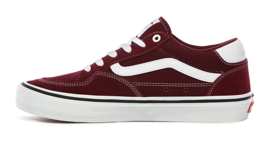 Vans Rowan Pro Skate Shoes - Port / White | Shoes by Vans 7