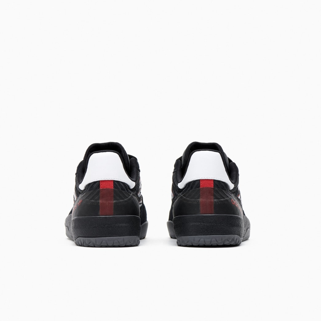 Adidas Copa Nationale Skate Shoe - Core Black / FTWR White / Scarlet | Shoes by adidas Skateboarding 3