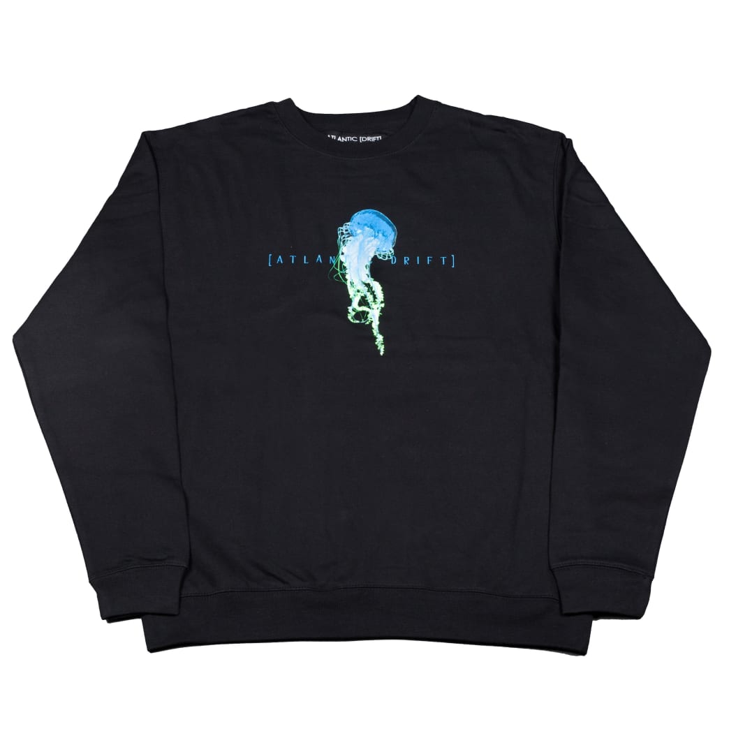 Atlantic Drift Jelly Crewneck - Black | Sweatshirt by Atlantic Drift 1