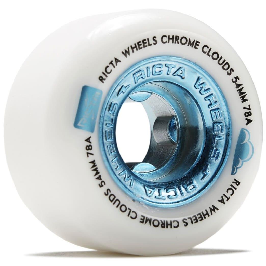 Ricta Chrome Clouds Blue 78A Wheels | Wheels by Ricta Wheels 1