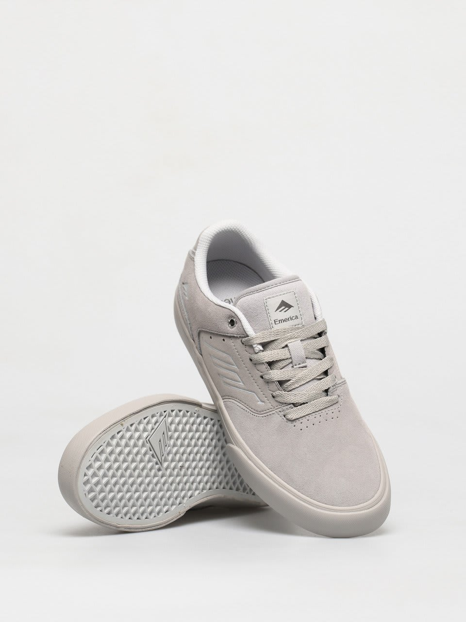 Emerica The Low Vulc Skate Shoes - Grey | Shoes by Emerica 3