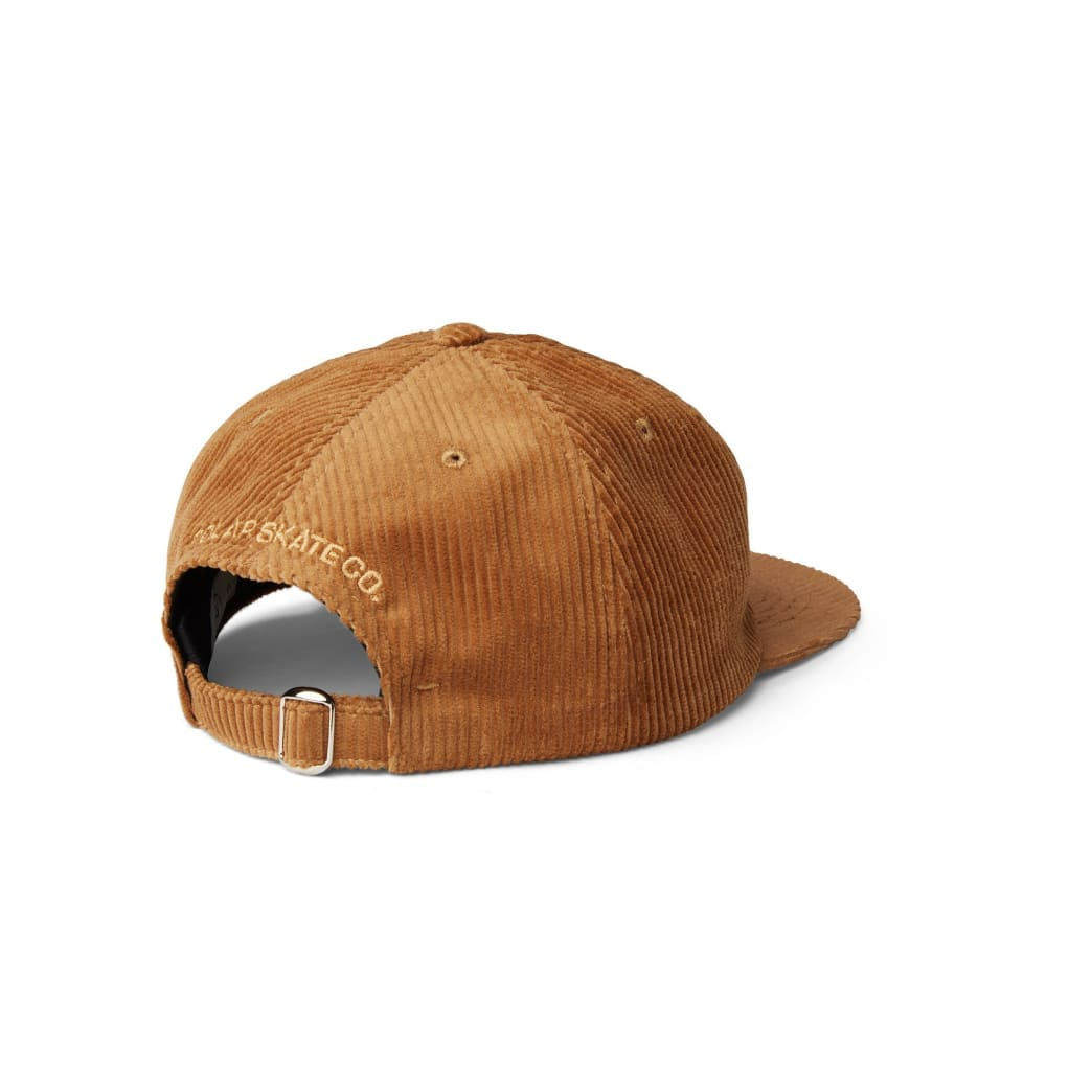 Polar Skate Co Corduroy Cap - Tan | Cap by Polar Skate Co 2