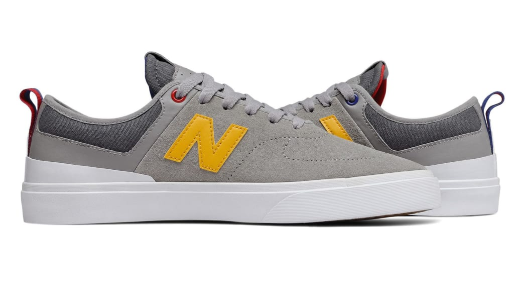 New Balance Numeric 379 Skate Shoe - Grey / Red / Blue   Shoes by New Balance 5