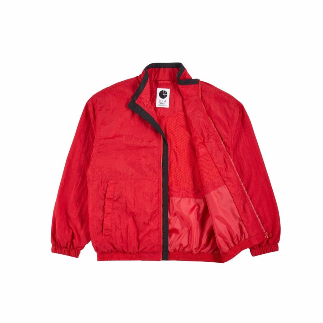 Polar Skate Co Track Jacket - Red / Black | Track Jacket by Polar Skate Co 3