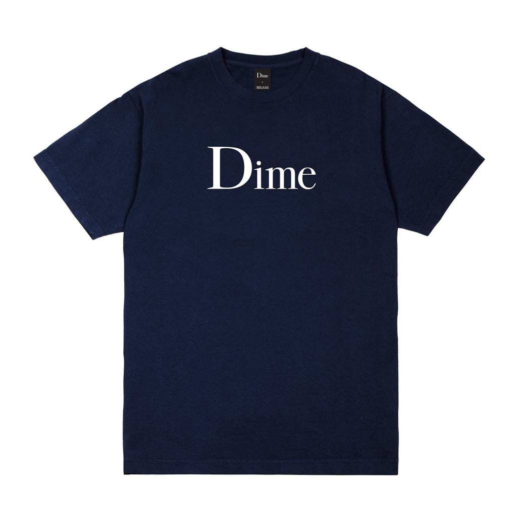 Dime Classic Logo T-Shirt - Navy | T-Shirt by Dime MTL 1