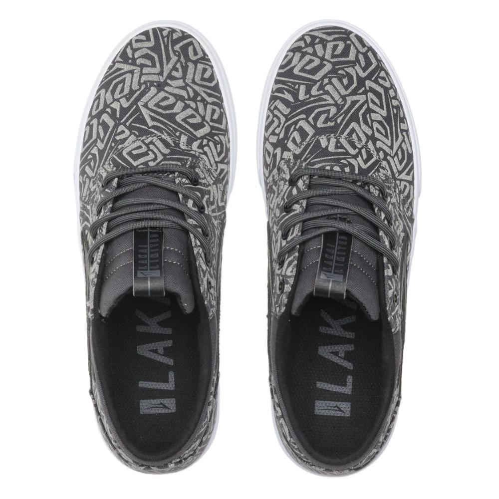 Lakai Griffin Canvas Skate Shoes - Charcoal | Shoes by Lakai 2