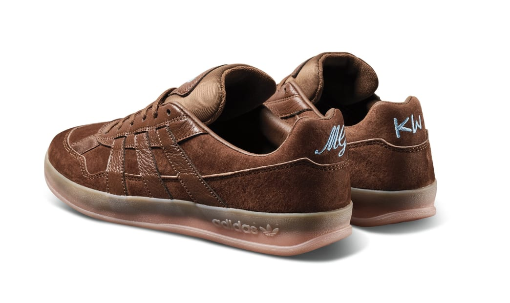 adidas Skateboarding Aloha Super Karol Winthorp Shoes - Bark / Bark / Vapour Pink | Shoes by adidas Skateboarding 4