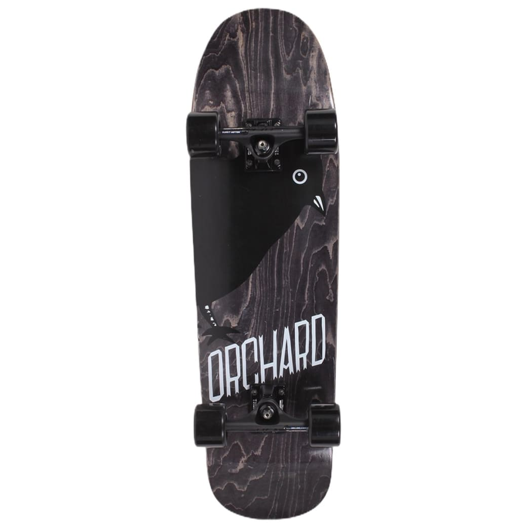 Orchard Assembled Cruiser Complete Bird Blackout Drippy Shape 9.1 | Complete Skateboard by Orchard 1
