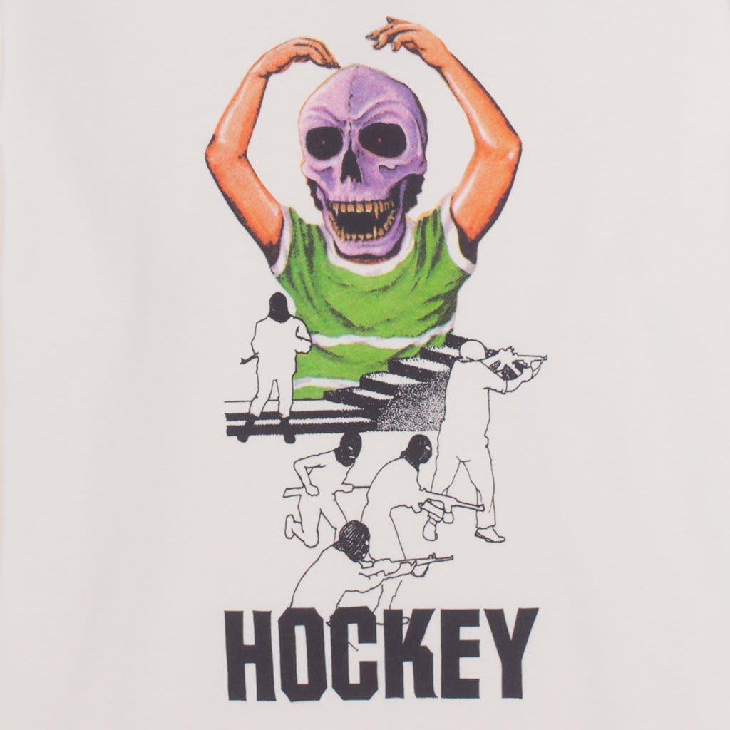 Hockey Skull Kid Hood - Bone | Hoodie by Hockey Skateboards 4
