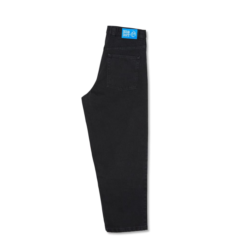 Polar Skate Co Big Boy Jeans - Pitch Black   Jeans by Polar Skate Co 3