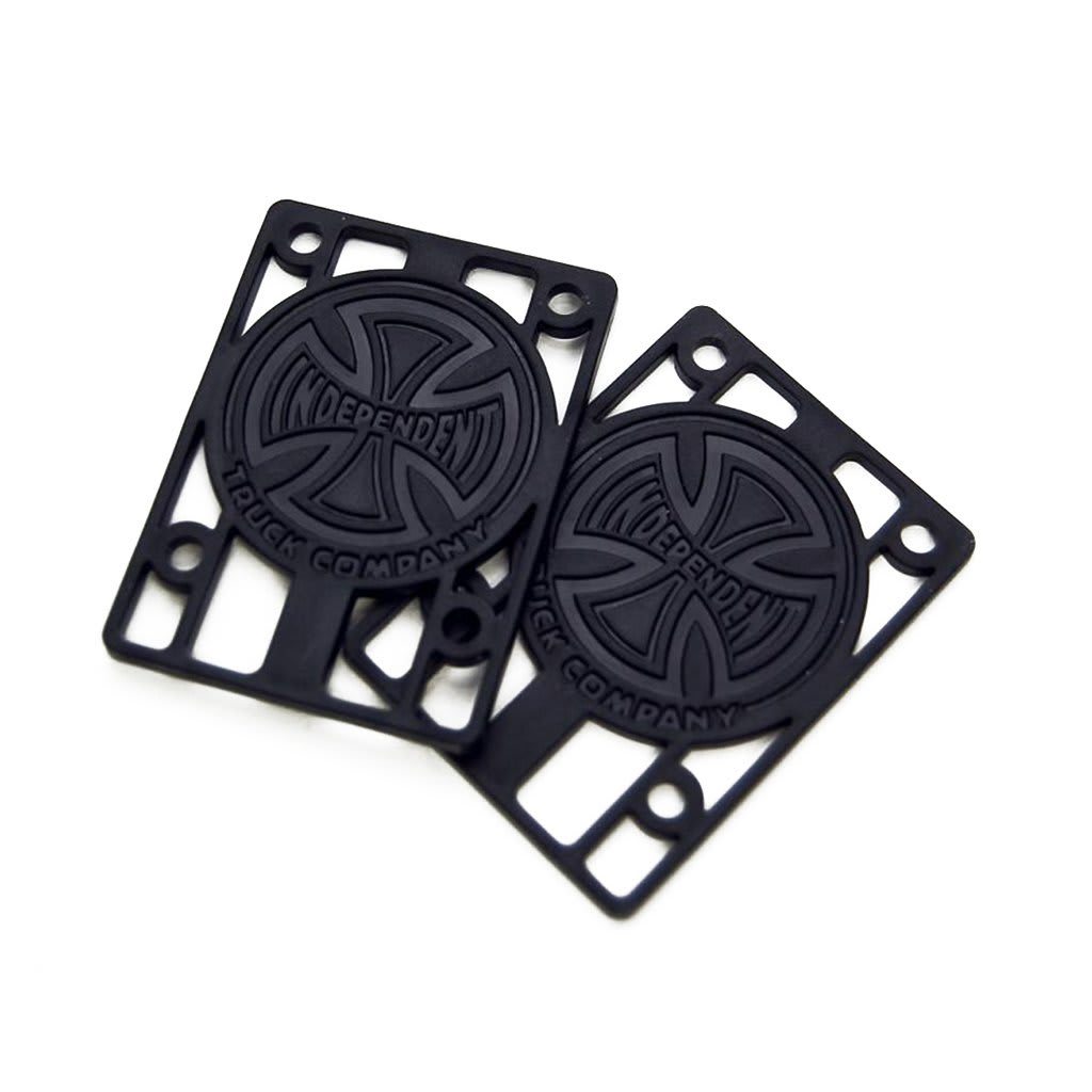"Independent 1/8"" Black Riser Pads 