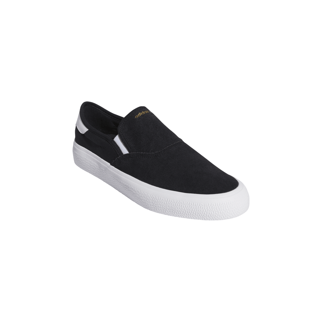 adidas 3MC Slip-On Skate Shoes - Core Black / FTWR White / Gold Met   Shoes by adidas Skateboarding 6