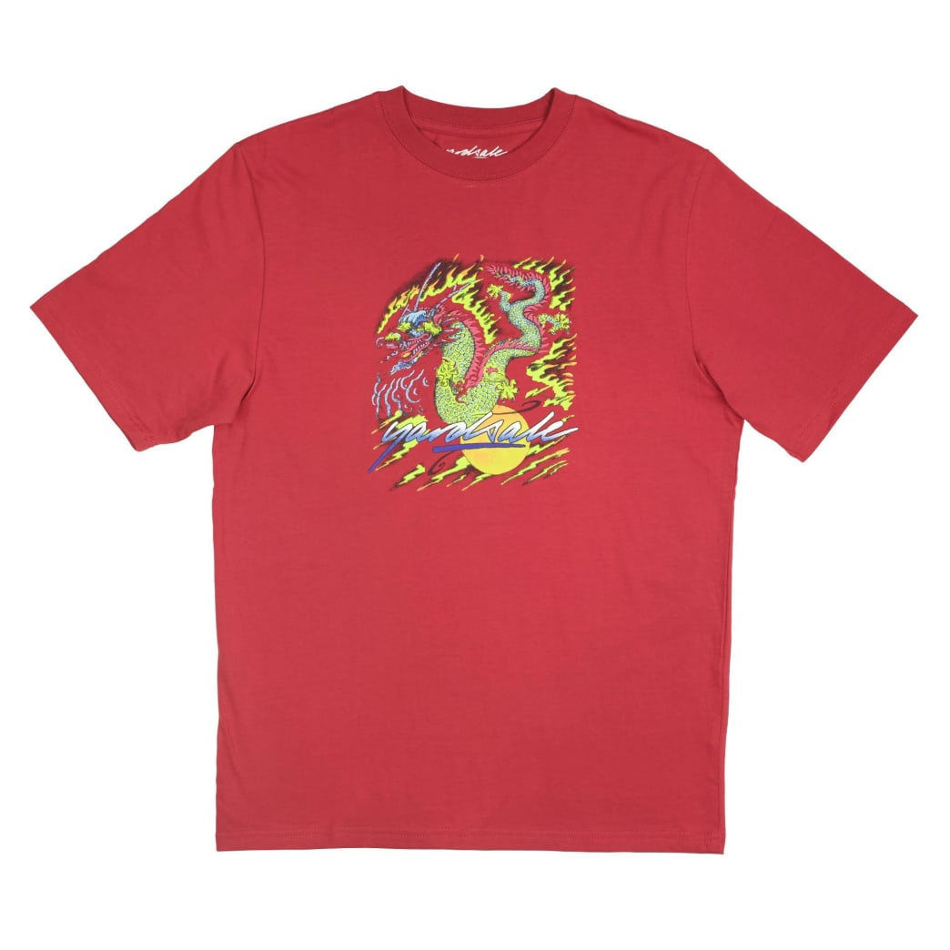 Yardsale Dragon T-Shirt - Cardinal | T-Shirt by Yardsale 1