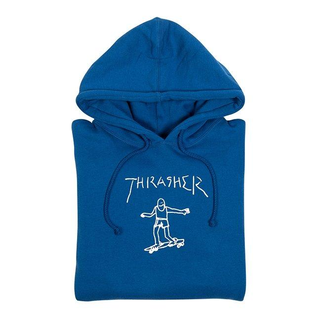 Thrasher Gonz Hoodie - Royal Blue | Sweatshirt by Thrasher 2