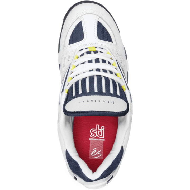 eS Omega Skate Shoe - White / Navy | Shoes by eS Shoes 2