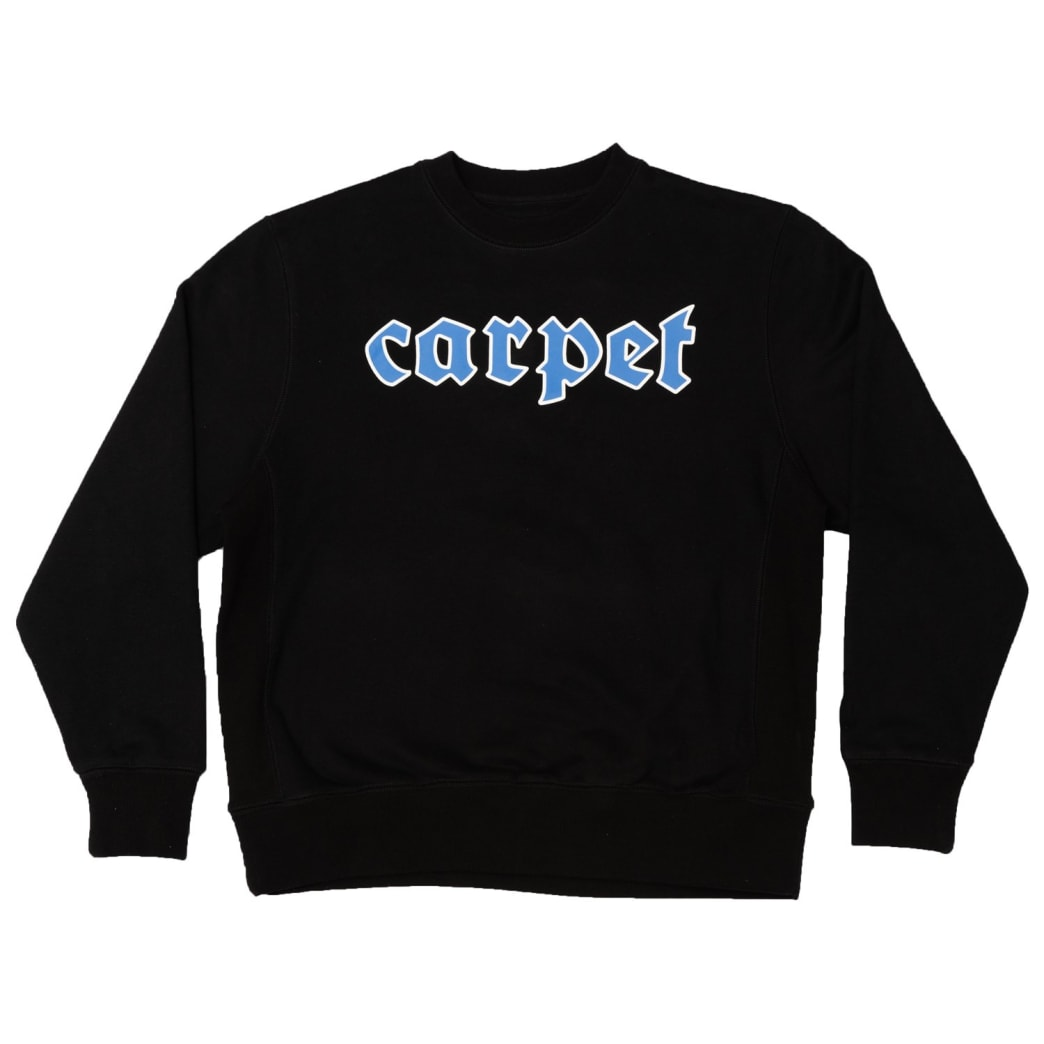 Carpet Company BBYBOI Crewneck Black | Sweatshirt by Carpet Company 1