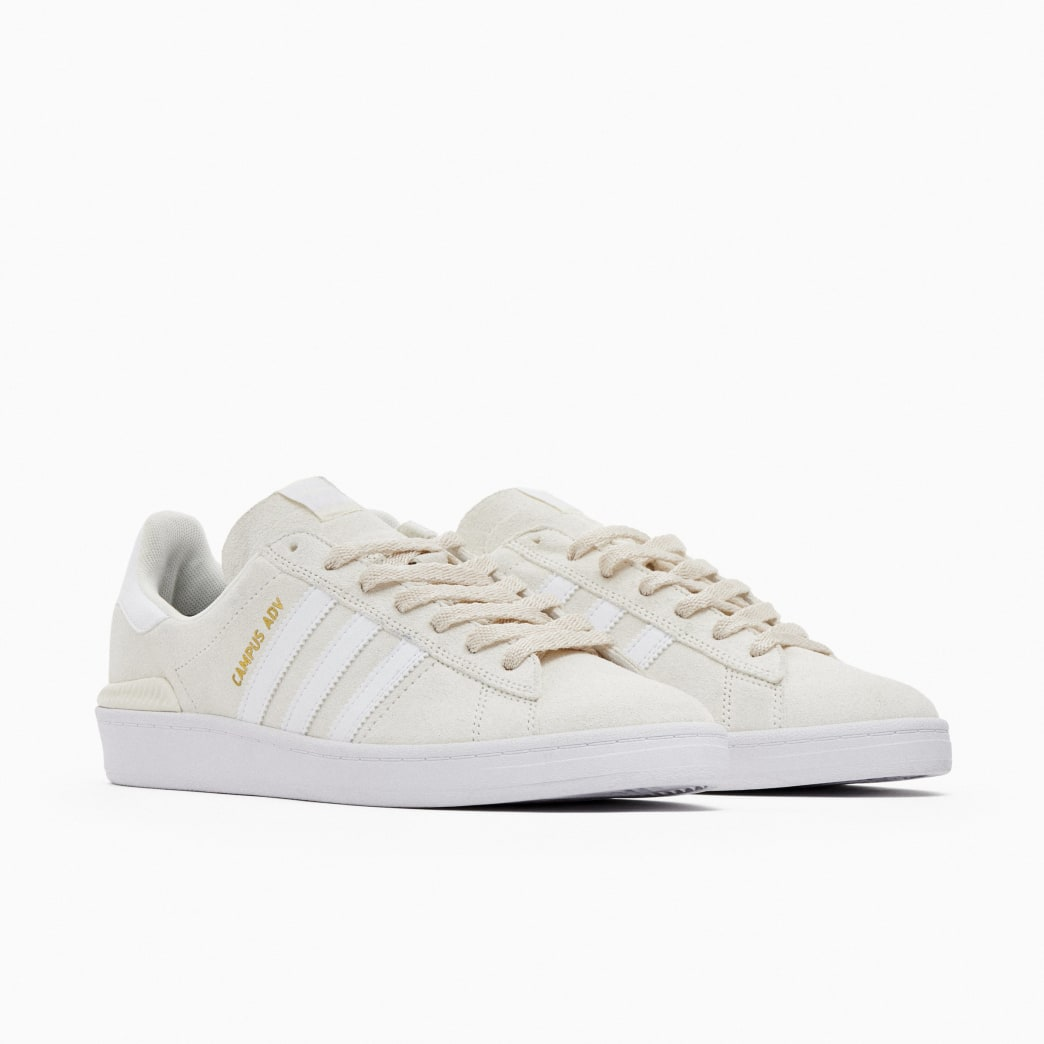 Adidas Campus ADV Skateboarding Shoes - Supplier Colour / FTWR White / Gold Met | Shoes by adidas Skateboarding 2