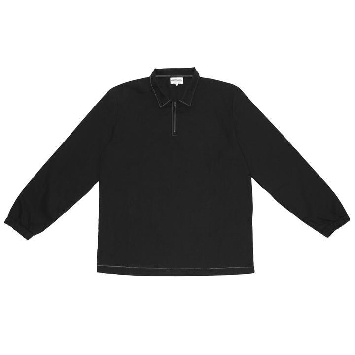 The National Skateboard Co. Quarter Zip Shirt - Black (Collection 2) | Shirt by The National Skateboard Co. 1