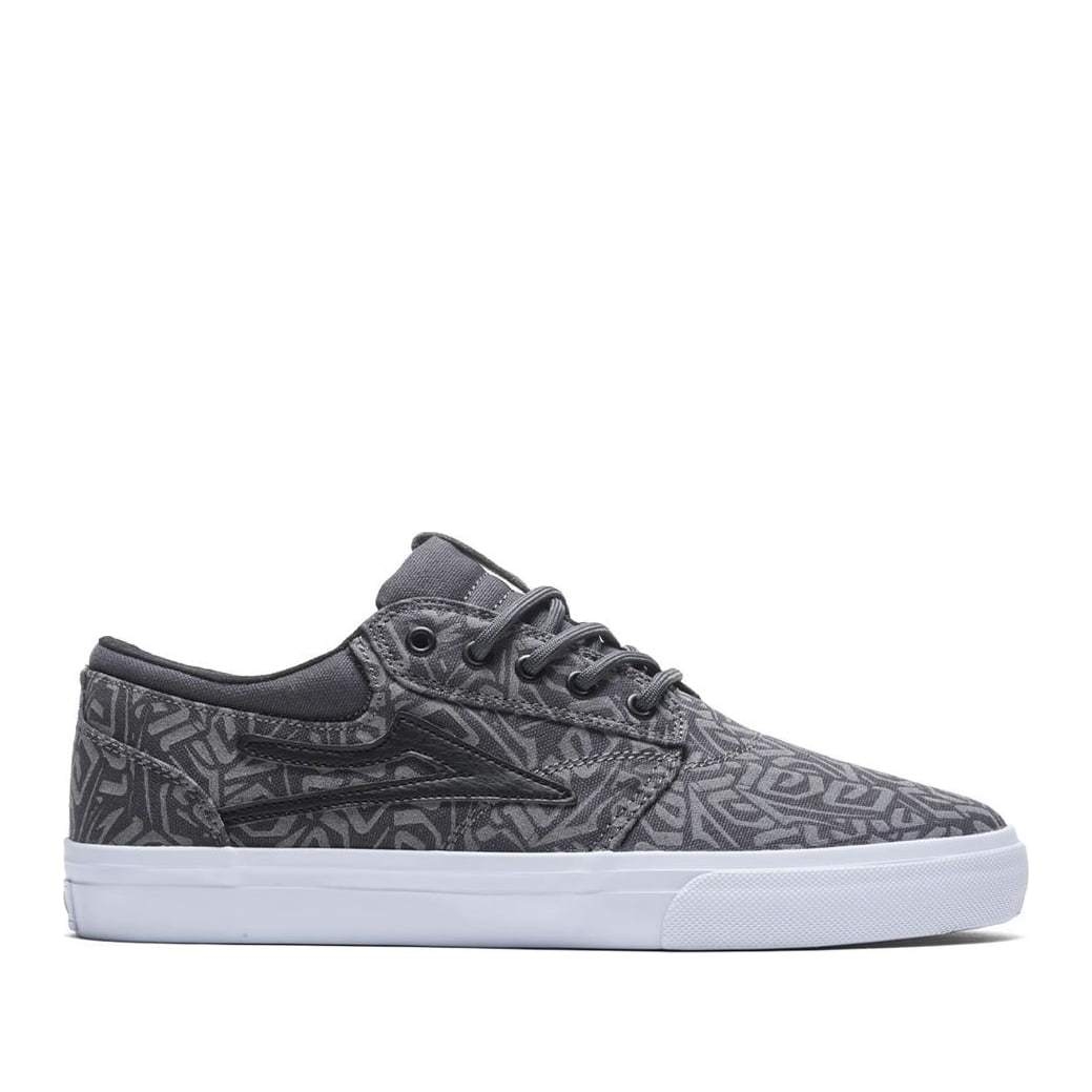 Lakai Griffin Canvas Skate Shoes - Charcoal | Shoes by Lakai 1