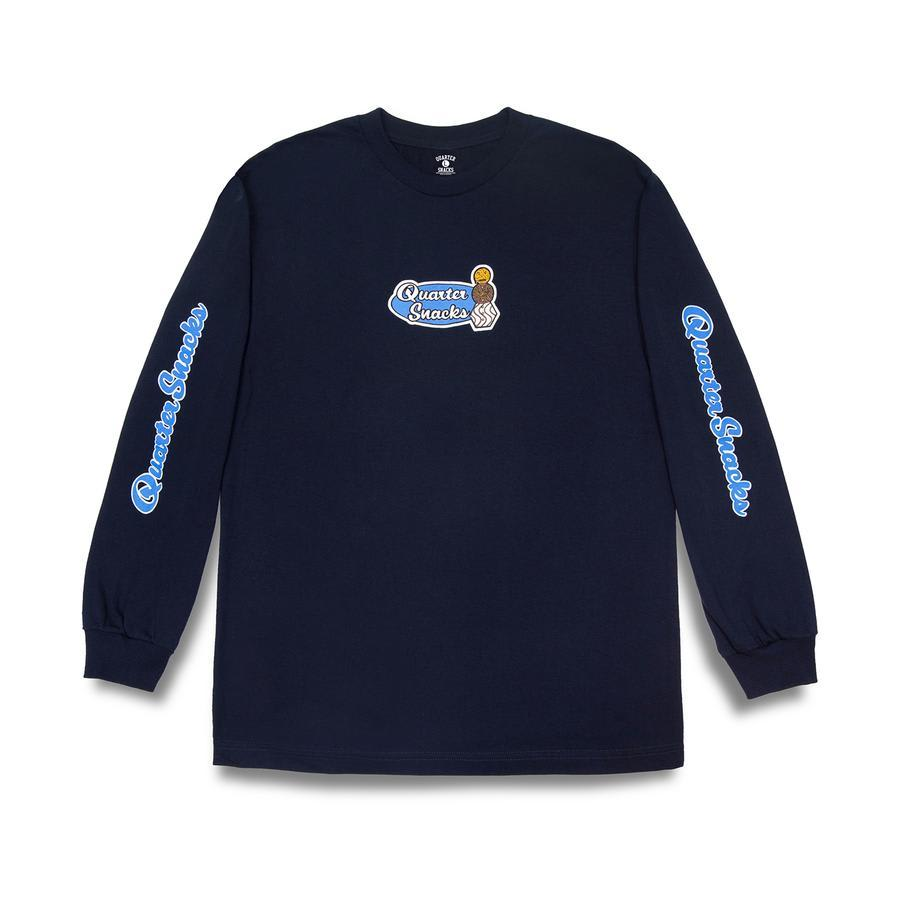 Quartersnacks Middle School Long Sleeve T-Shirt - Navy | Longsleeve by Quartersnacks 1