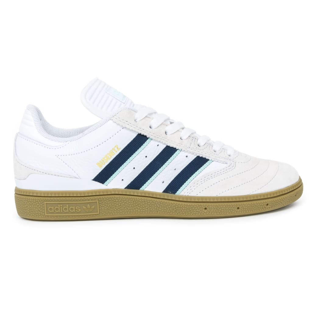 the best attitude 624ff 6310b Adidas Busenitz Shoes - Cloud White Burgundy Clear Mint   Shoes by adidas  Skateboarding