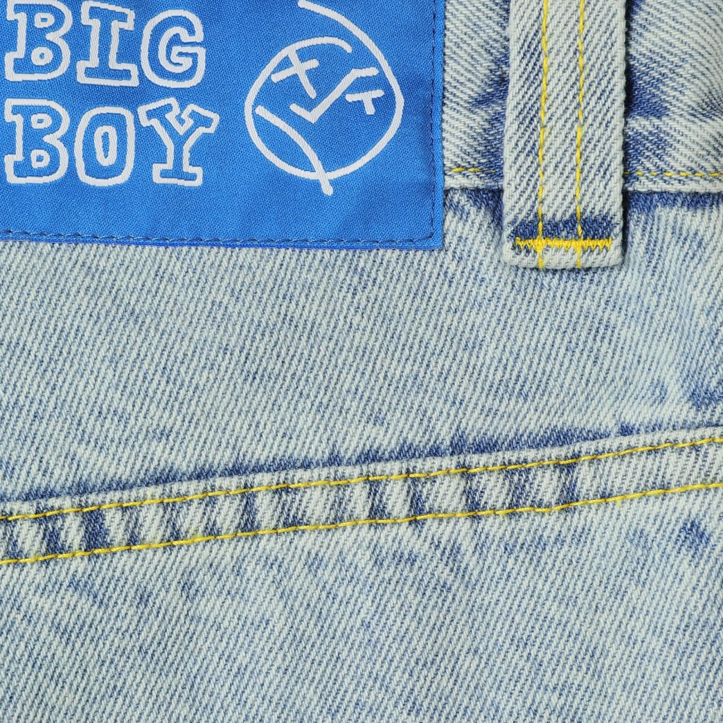 Polar Skate Co Big Boy Jeans - Light Blue | Jeans by Polar Skate Co 4
