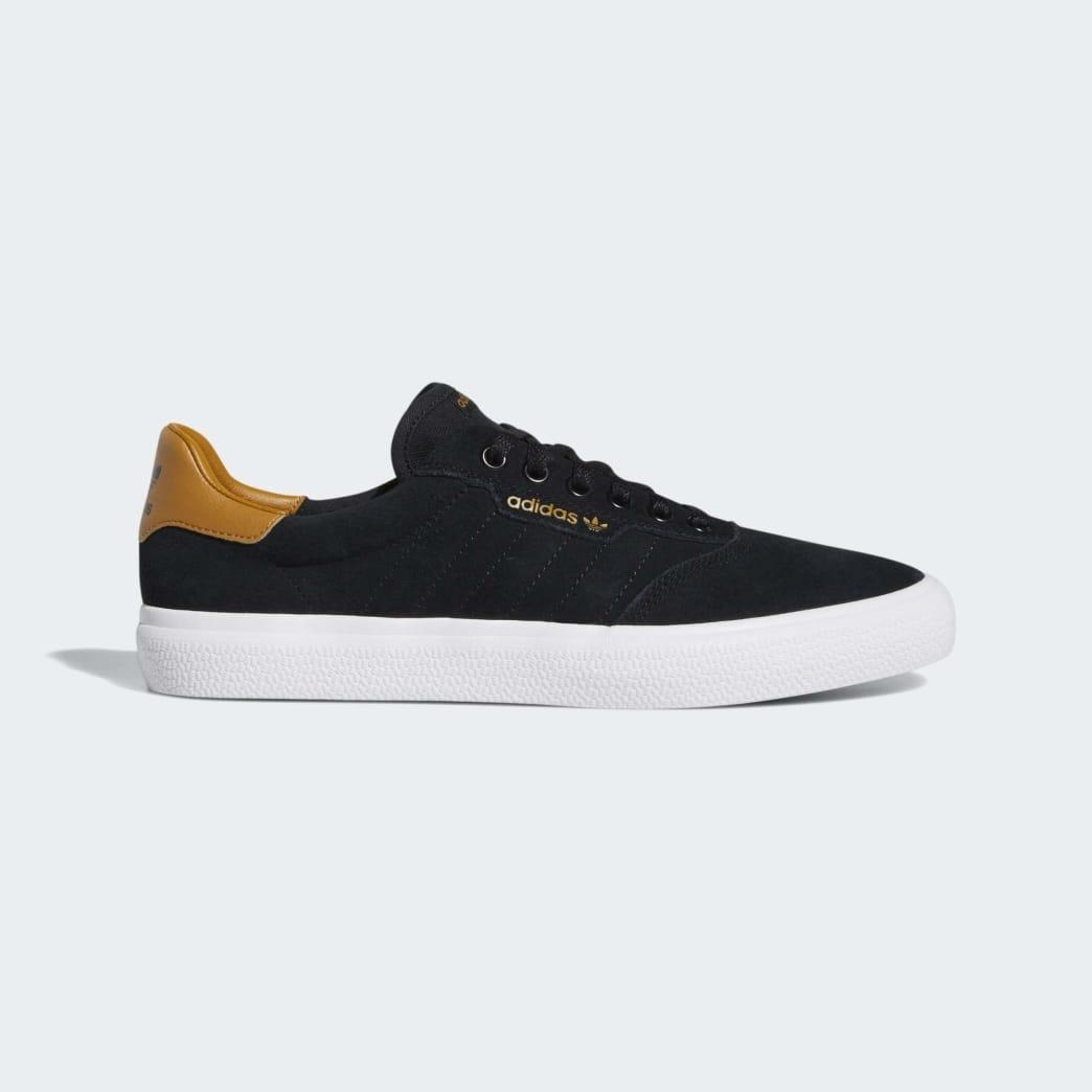 Adidas 3MC Vulc Shoes - Core Black/Mesa/Cloud White | Shoes by adidas Skateboarding 1