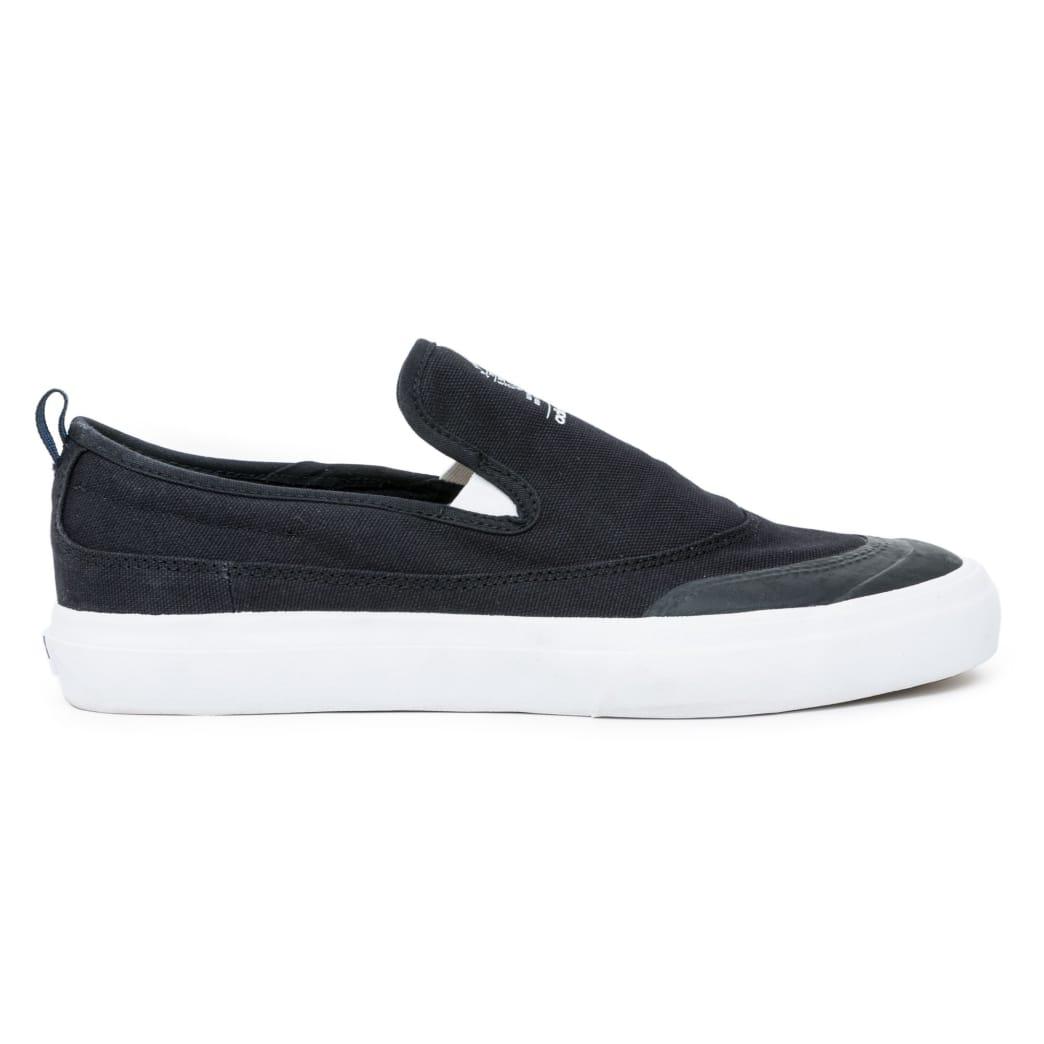Adidas Matchcourt Slip On Shoes - Black/Black/White   Shoes by adidas Skateboarding 2