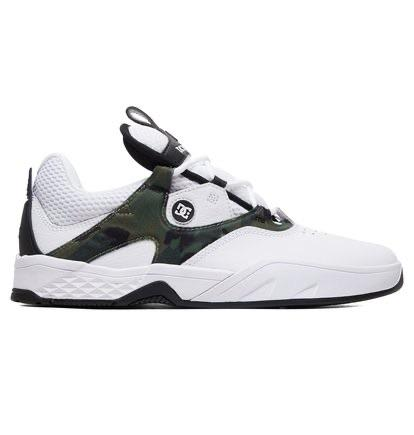 DC Shoes Kalis S Skate White/Camo | Shoes by DC Shoes 1