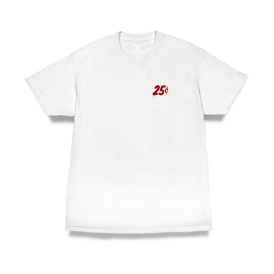 Quartersnacks Snackman T-Shirt - White | T-Shirt by Quartersnacks 2