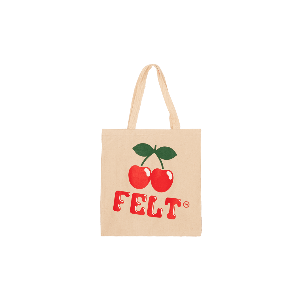 """FELT-""""IBIZA TOTE BAG"""" NATURAL 