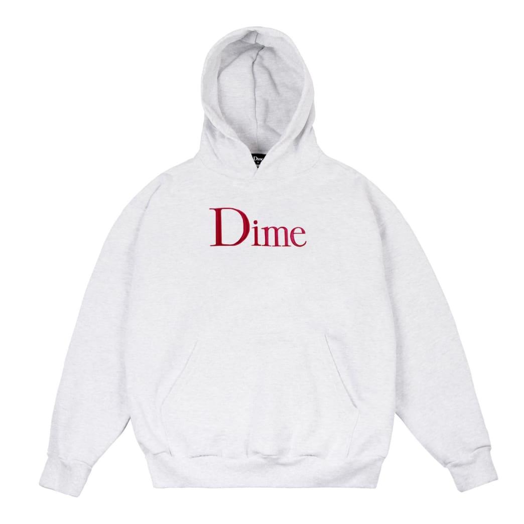 Dime Classic Logo Hoodie - Ash | Hoodie by Dime MTL 1