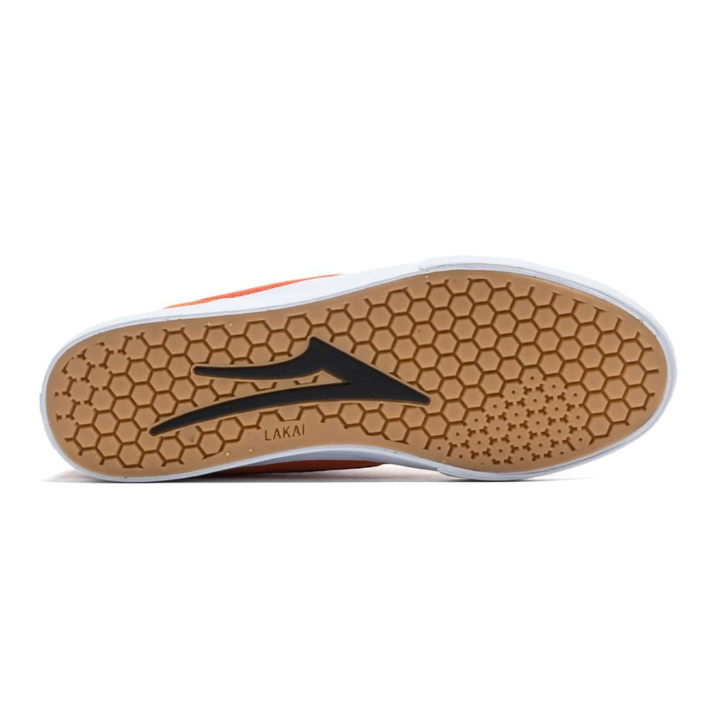 Lakai Proto Vulc Skate Shoes - Burnt Orange | Shoes by Lakai 5