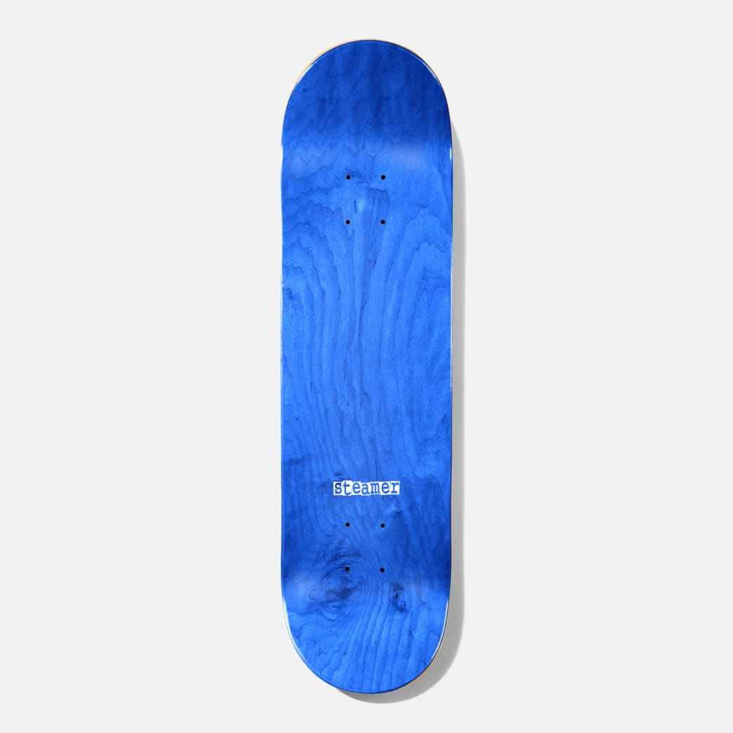 """Baker Skateboards Steamer Ribbon Name Red B2 Skateboard Deck - 8.25""""   Deck by Baker Skateboards 2"""