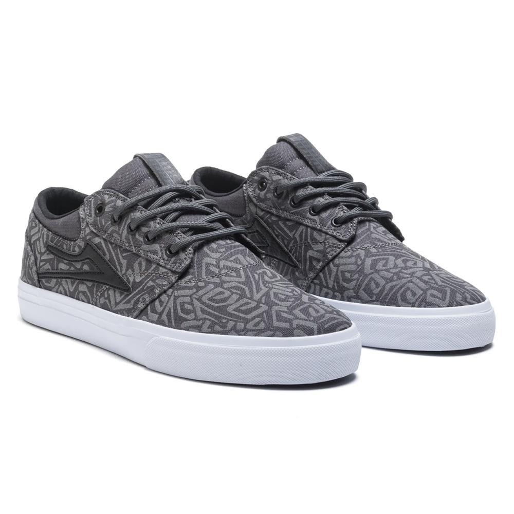 Lakai Griffin Canvas Skate Shoes - Charcoal | Shoes by Lakai 3