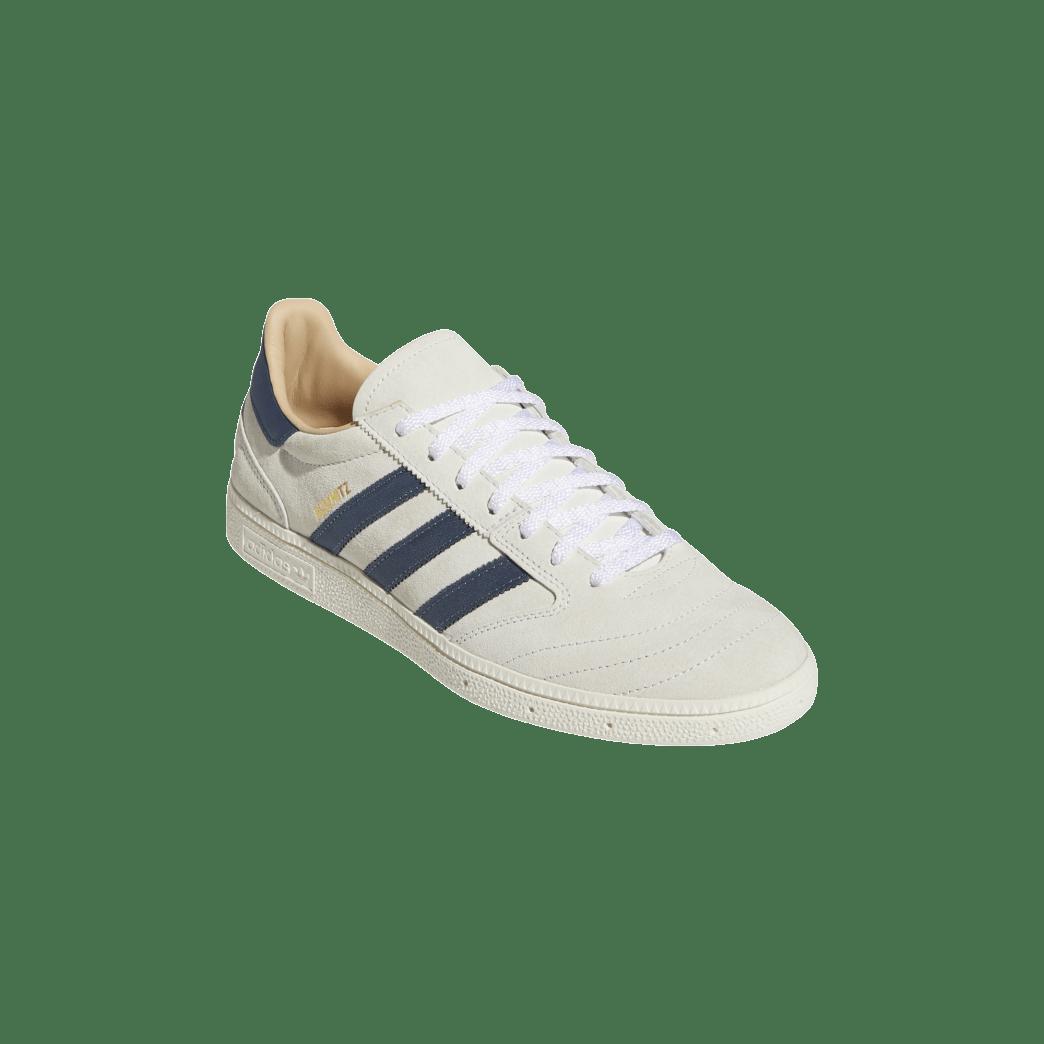 adidas Busenitz Vintage Skate Shoe - Crystal White / Legacy Blue / Chalk White | Shoes by adidas Skateboarding 5